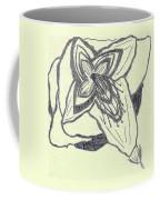 Lilly Artistic Doodling Drawing Coffee Mug