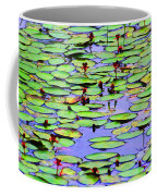 Lilly Pad Pond Coffee Mug
