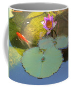 Lily And The Gold Fish Coffee Mug