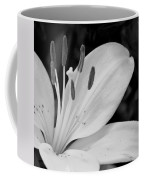 Lily Bw Coffee Mug