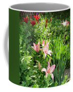 Lily Garden Coffee Mug