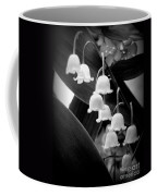 Lily Of The Valley Black And White Coffee Mug