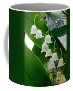 Lily Of The Valley Green Coffee Mug