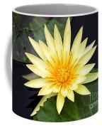 Lily Pad Yellow Coffee Mug