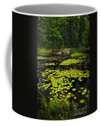 Lily Pads On Lake Coffee Mug