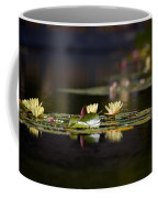 Lily Pond Coffee Mug by Peter Tellone
