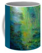 Lily Pond Tribute To Monet Coffee Mug