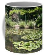 Lily Pond View Monets Garden Coffee Mug