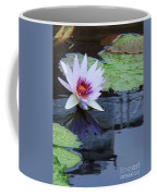 Lily Purple And White Coffee Mug