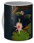 Lily White Monet Coffee Mug