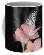 Lily With Butterly  Coffee Mug