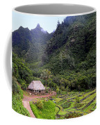 Limahuli Taro Fields In Kauai Coffee Mug