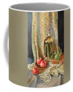 Lime And Apples Still Life Coffee Mug by Irina Sztukowski