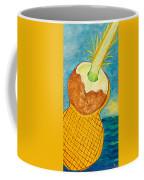 Lime Coconut Pineapple Guitar Coffee Mug