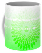 Lime Green Spirograph Coffee Mug