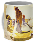Lime Rock Quarry II Coffee Mug by Edward Hopper