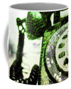 Lime Rotary Phone Coffee Mug