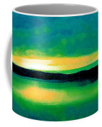 Lime Sunset Coffee Mug
