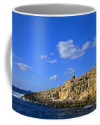 Limestone Rock, Mediterranean Sea, Malta Coffee Mug