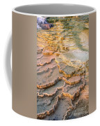Limestone Terraces Yellowstone National Park Coffee Mug
