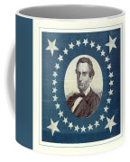 Lincoln 1860 Presidential Campaign Banner - Bust Portrait Coffee Mug