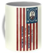 Lincoln 1860 Presidential Campaign Banner Coffee Mug