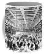 Lincoln Ball, 1865 Coffee Mug