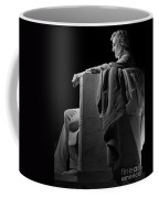 Lincoln In Black And White Coffee Mug