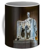 Lincoln In Memorial Coffee Mug