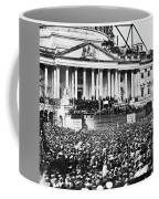 Lincoln Inauguration, 1861 Coffee Mug