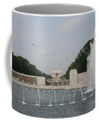 Lincoln Memorial And Fountain - Washington Dc Coffee Mug