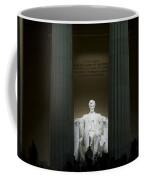 Lincoln Memorial At Night Coffee Mug
