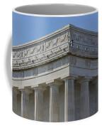Lincoln Memorial Columns  Coffee Mug by Susan Candelario