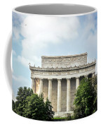 Lincoln Memorial Side View Coffee Mug