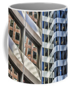 Line Or Curves Coffee Mug by Susan Leonard
