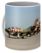 Line-up Of Hellenic Air Force T-2 Coffee Mug