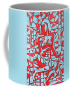 Lined Girl Coffee Mug