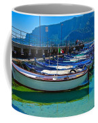 Lined Up Fleet In Sicily Coffee Mug