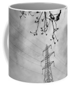Lines In Black And White Coffee Mug