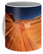 Lines In Sandstone Coffee Mug