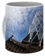 Lines Triangles And Cloud Puffs - Hearst Tower In New York City Coffee Mug