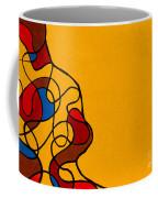 Linework Yellow Coffee Mug