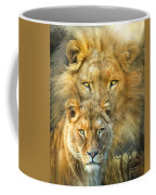Lion And Lioness- African Royalty Coffee Mug