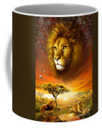 Lion Dawn Coffee Mug by Adrian Chesterman