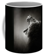Lion Displaying Dangerous Teeth Coffee Mug