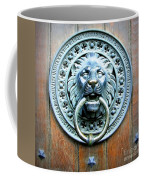 Lion Door Knocker In Norway Coffee Mug