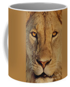 Lion Face  Coffee Mug