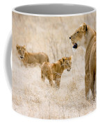 Lion Family Coffee Mug