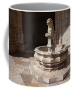 Lion Fountain Jeronimos Monastery In Lisbon Coffee Mug