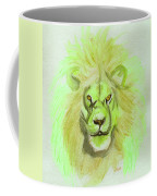 Lion Green Coffee Mug